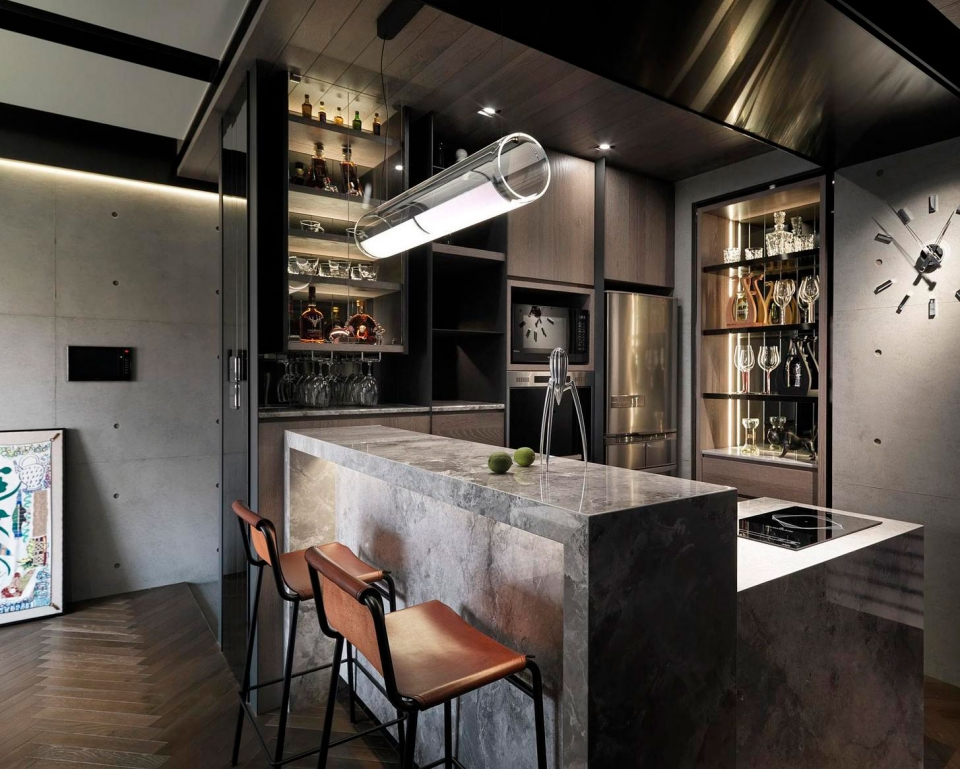 Vibia The Edit - Vibia Lighting Takes Centre Stage in Kitchen Designs - Guise