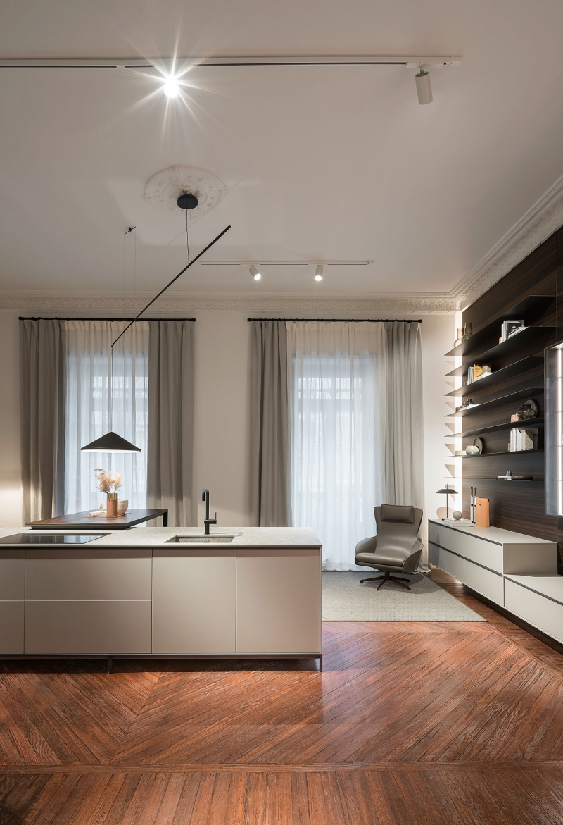 Vibia The Edit - Vibia Lighting Takes Centre Stage in Kitchen Designs - North