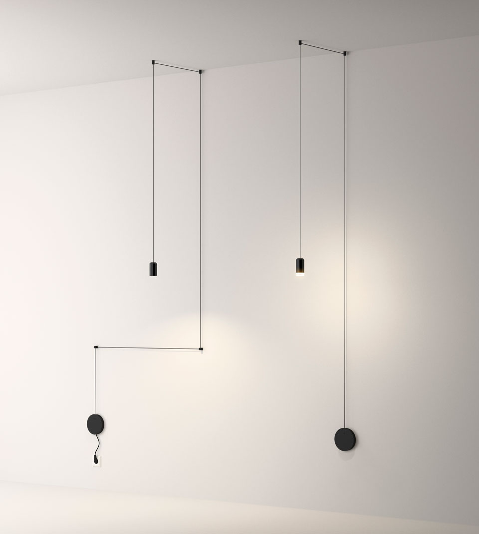 Vibia The Edit - Play with Wireflow Freeform