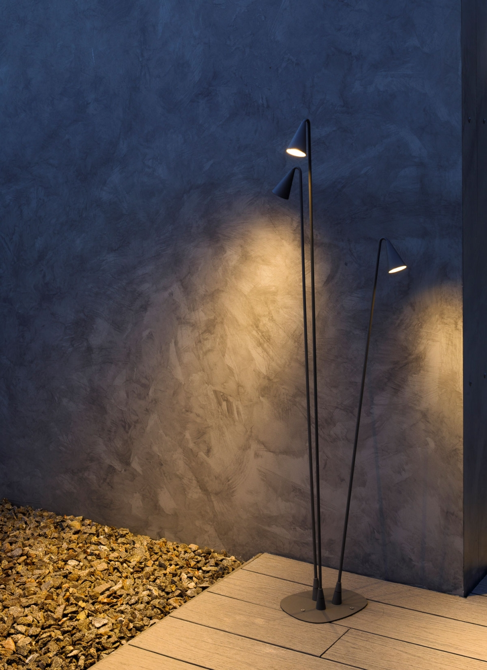 Vibia The Edit - Vibia Headquarters' Terraces: Display of Outdoor Lighting Collections - Brisa
