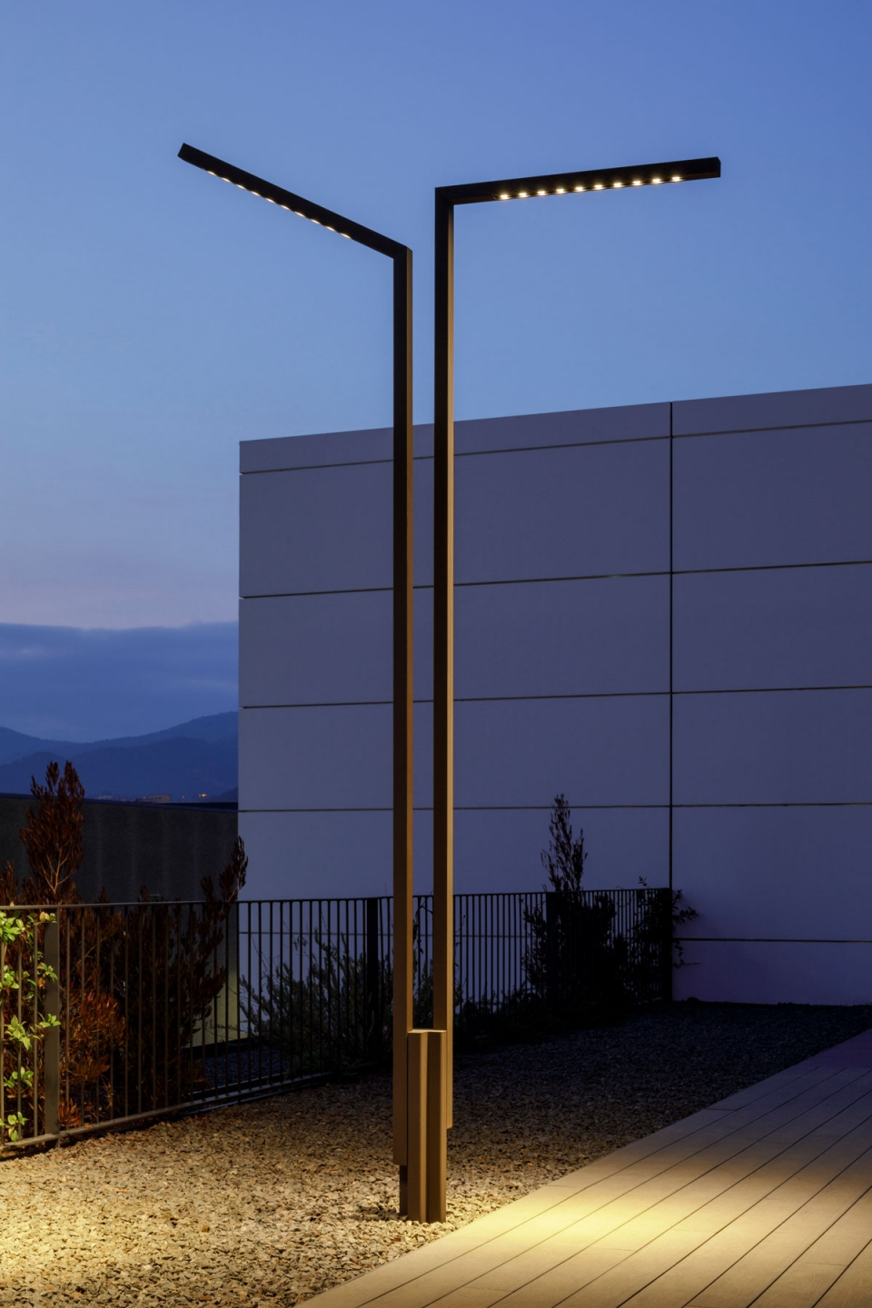Vibia The Edit - Vibia Headquarters' Terraces: Display of Outdoor Lighting Collections - Palo Alto