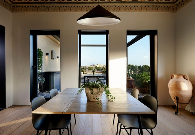 Vibia The Edit - Designers Illuminate a Renovated Rome Penthouse - North