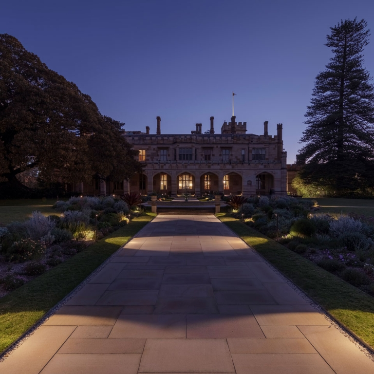 Designer Selects Vibia's Bamboo to Brighten the Gardens of Sydney's Government House