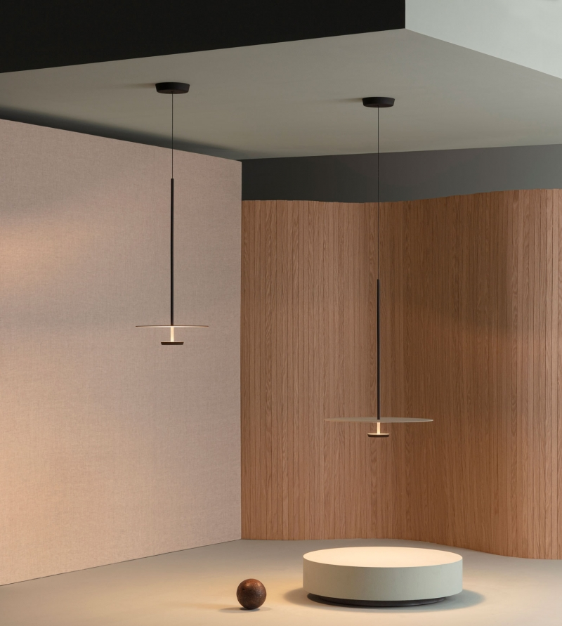 Vibia The Edit - Layers of Light: Flat Pendant