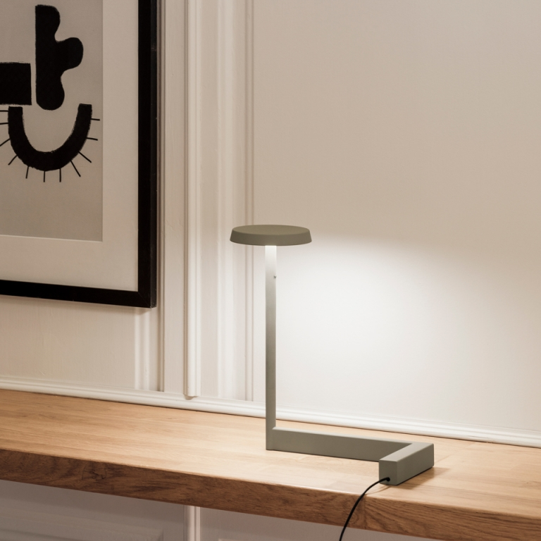 Layers of Light: introducing table lamps from the Flat collecion