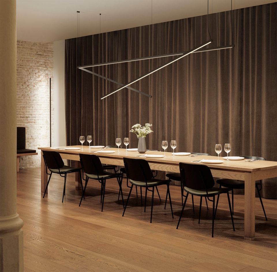 Vibia The Edit - Introducing the Sticks collection - Boundless Spaces