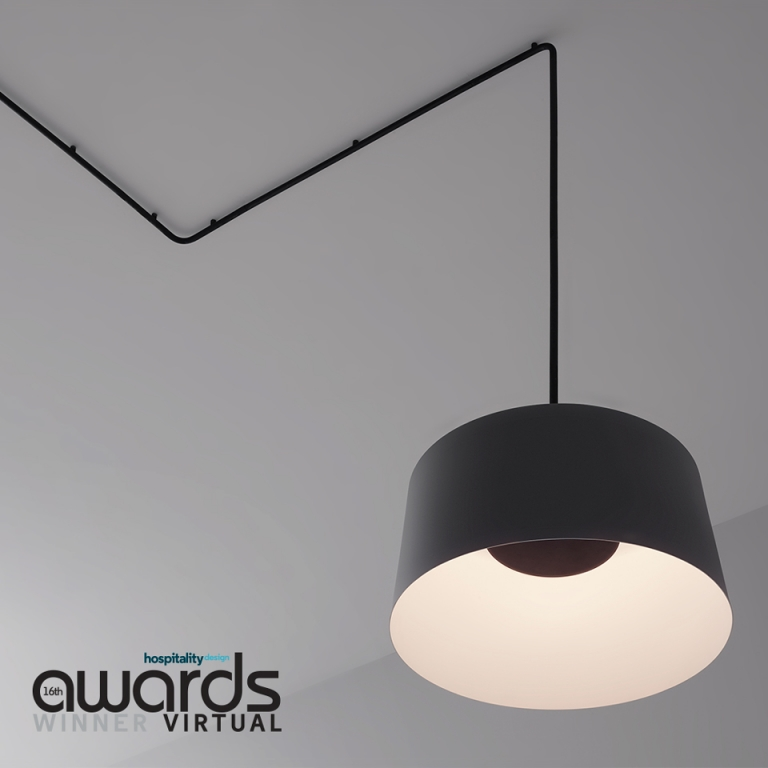 Vibia's Tube Collection Wins the Hospitality Design Award for Best Lighting
