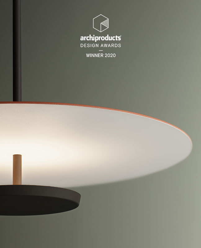 Vibia The Edit - Flat wins the 2020 Archiproducts Design Awards