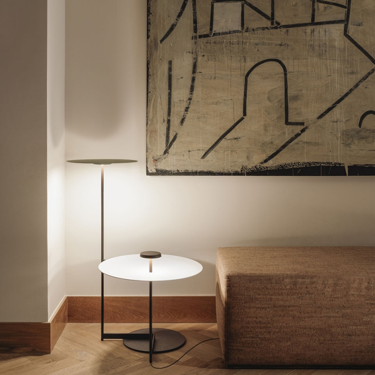 Layers of Light: Introducing the Flat Floor Lamp