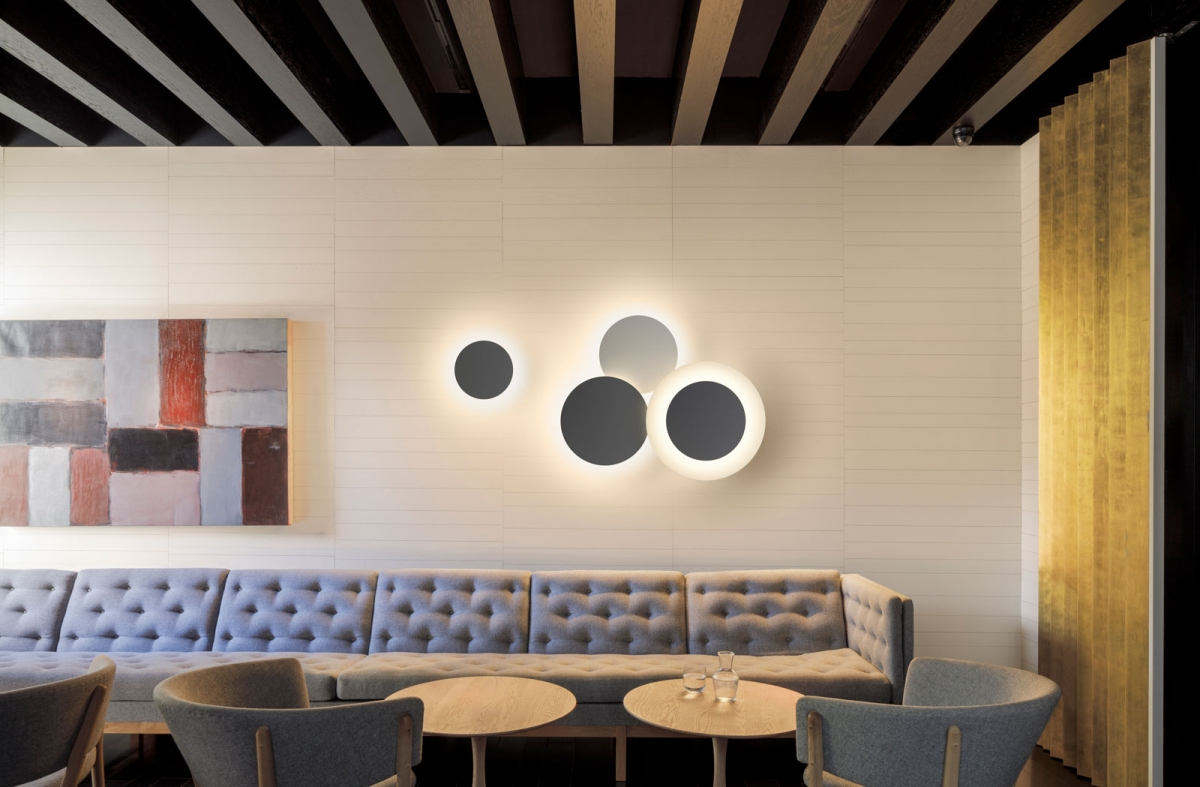 Vibia The Edit - My Pick: Wall Lights - Puck Wallart