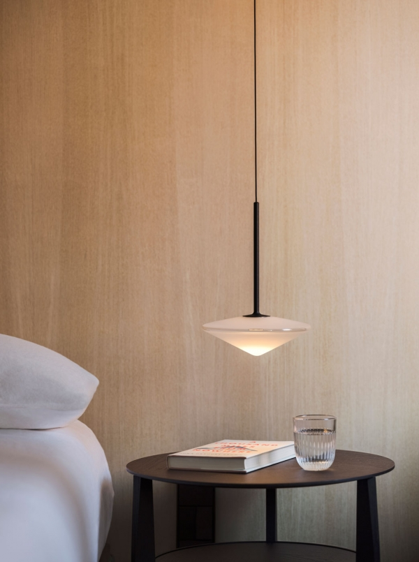 The Edit - Vibia Lighting Brightens Bedrooms - Tempo