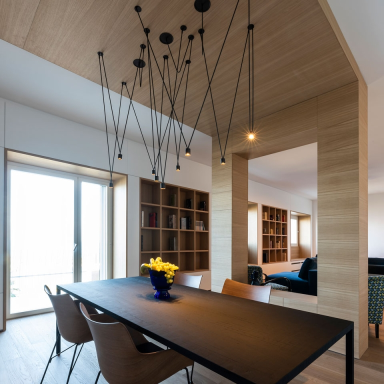 Architect Selects Vibia Lighting for an Italian Seaside Residence