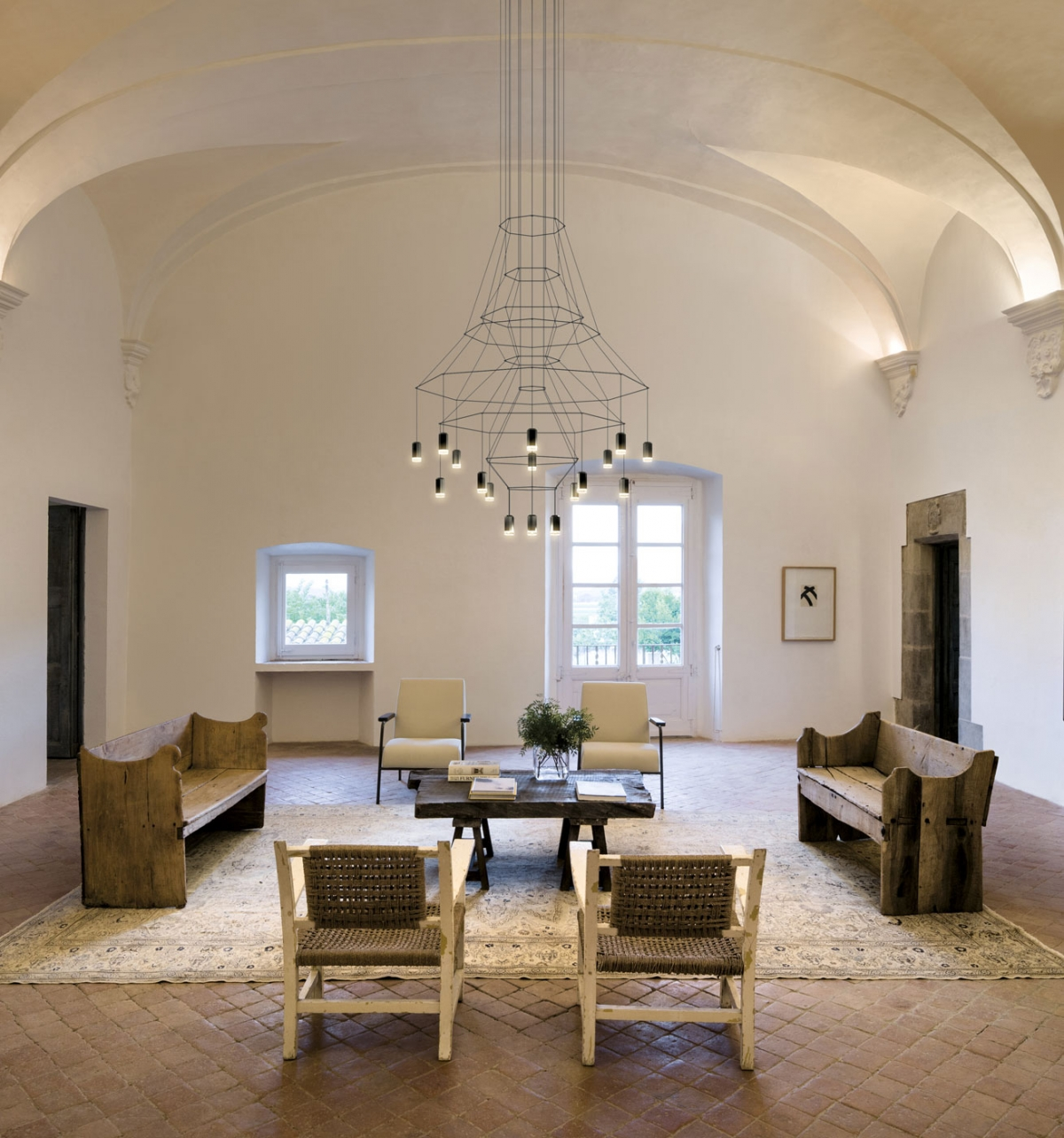 Vibia The Edit - Iconic Chandeliers - Wireflow Chandelier