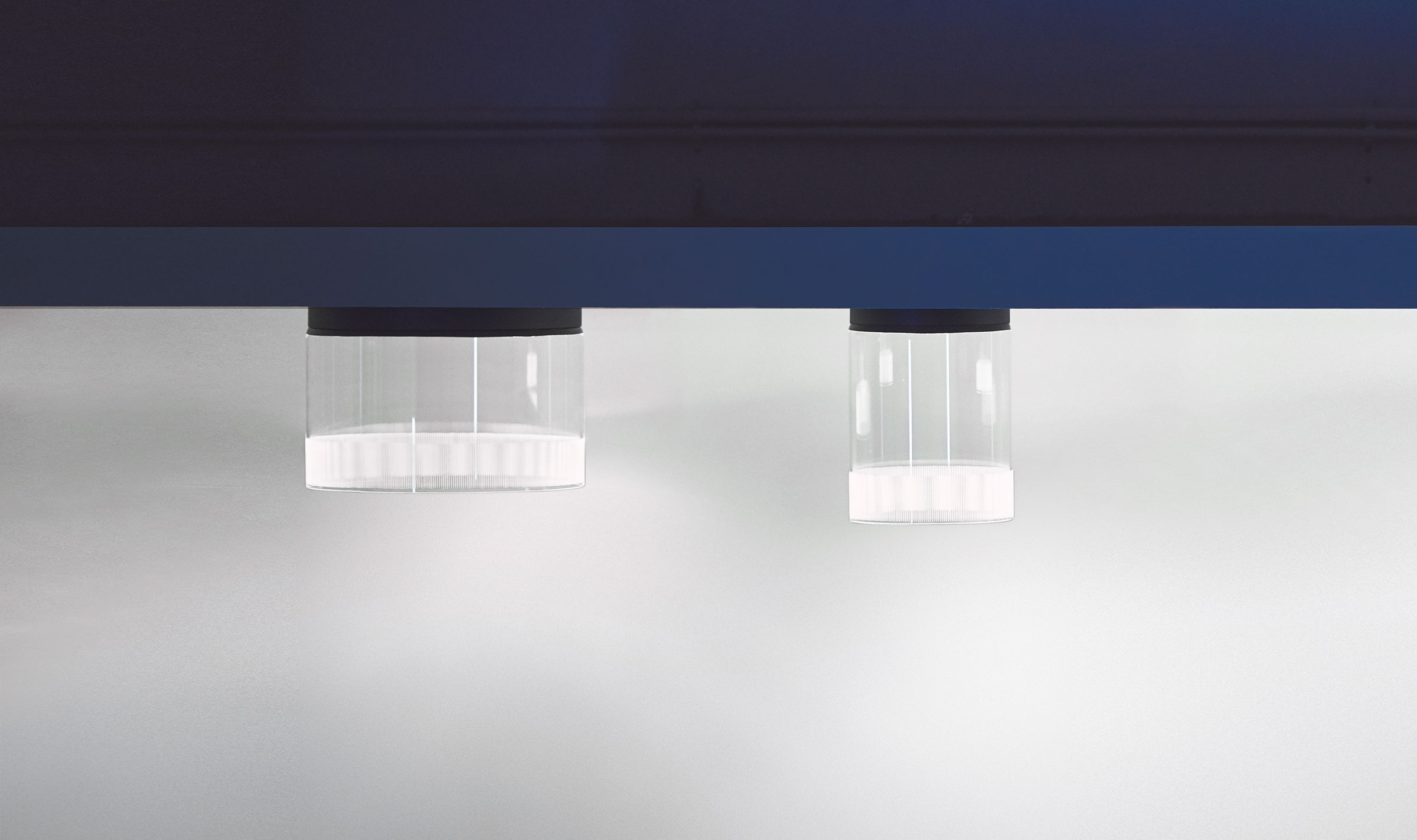 Vibia The Edit - Guise - Guise, interplay of light and transparency