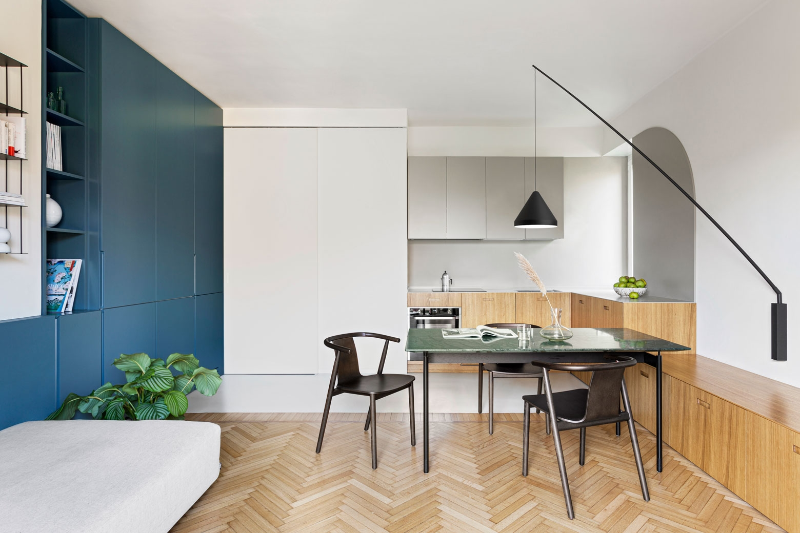 Vibia The Edit - A Renovated Milan Apartment North