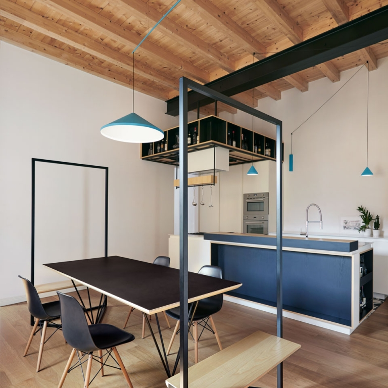 Designers Select Vibia Luminaires for a Residence in Legnano, Italy