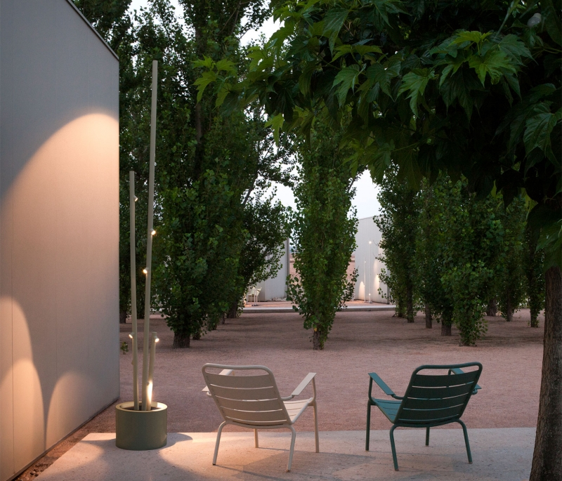 Vibia The Edit - Inspired Ideas for Illuminating Your Outdoor Space - Bamboo