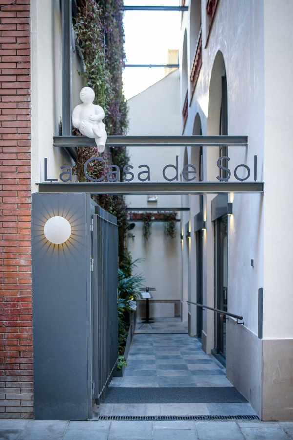 Vibia The Edit - Designers Select Vibia for a Boutique Barcelona Hotel - Meridiano