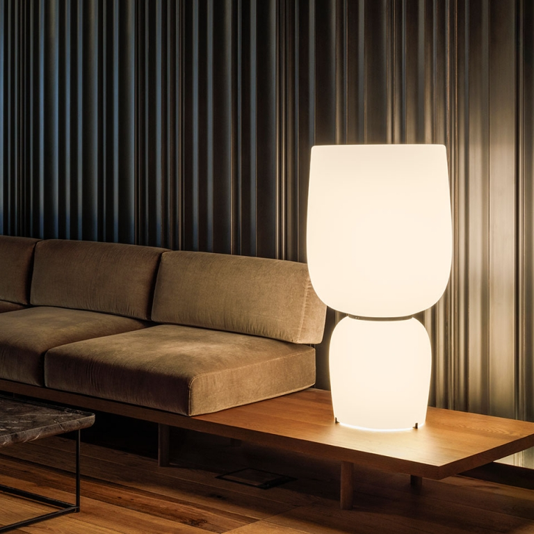 Creating Atmospheres With the Ghost Table Lamp